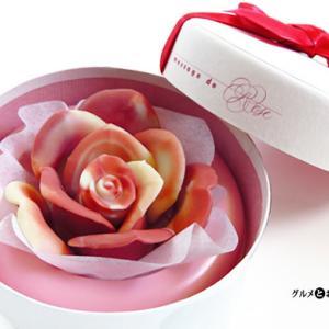 華麗!バラのチョコレート「メサージュドローズ」大輪のバラや花束タイプなどカラフルなショコラ
