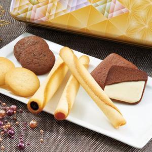 ヨックモック【通販】シガールのチョココーティングやアイスクリームなど贈り物にピッタリの詰め合わせ