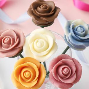 バラの花束チョコレート「ベルローズ・ボヌール」贈り物にぴったり!可憐でスイートな食べる薔薇
