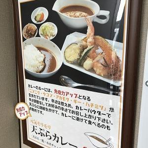 ランチレポート39:天ぷらカレー