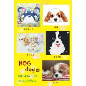 「DOGdog展」のDM!