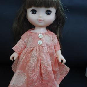 お人形服を作ってみた。