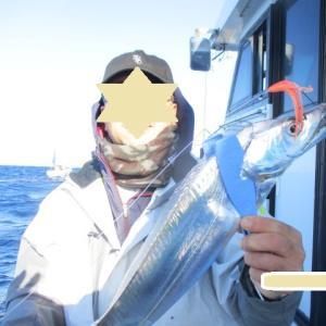 浜名湖沖 太刀魚