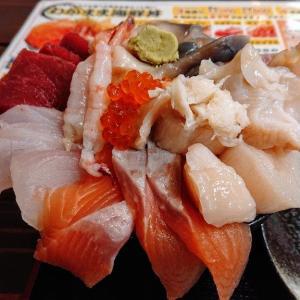 コスパ一番の海鮮丼