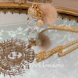 ミニ香水瓶ネックレス