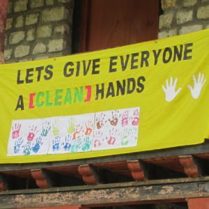 Global handwashing day なのに…
