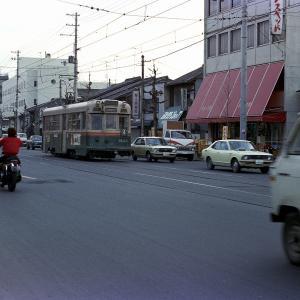 昭和50年 京都 京都市電