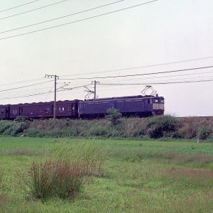 昭和48年中央西線 クハ76 クハ79 EF64