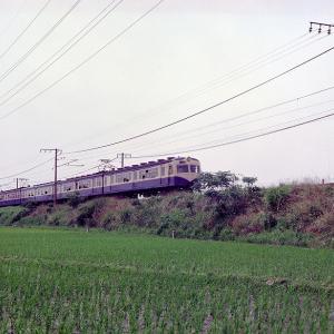 昭和48年中央西線 クハ76 拡大写真