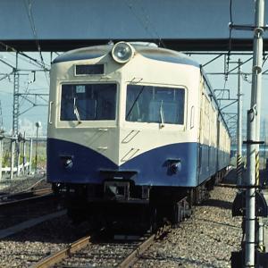 神領電車区 木枠のクハ76、80系、クモエ21、