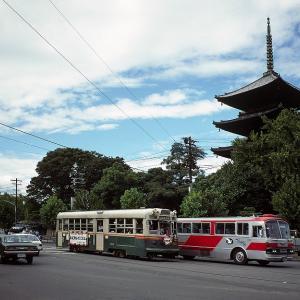 京都市電 九条大宮 1930