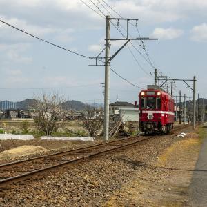名鉄美濃町線  名鉄モ600型 その7