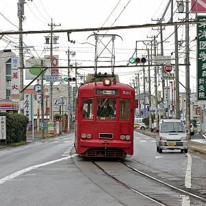 8月22日はちんちん電車の日 名鉄美濃町線モ590型