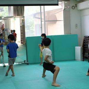 武道クラス如水~「形」の発表会