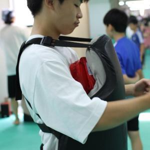 【武道クラス如水】蹴りの威力と気配を察知する力