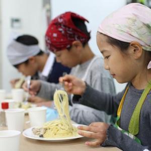 「おやびんレシピ」クリームパスタ☆Project_1~作品がずらりと並びました。