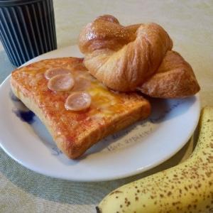 今日の朝ごはん