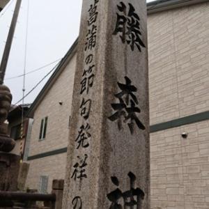 府社 藤森神社(ふじのもりじんじゃ)とフジバカマ