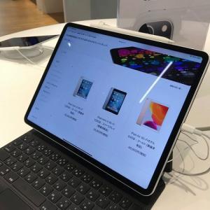 iPad proの12.9インチサイズを見てきた。