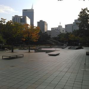 韓国のスケートパーク「カルトスケートパーク」