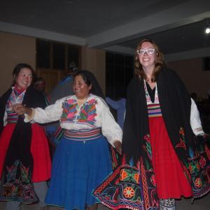 ペルーの旅~タキーレ島~その②