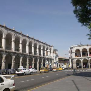 ペルーの旅 クスコからアレキパへ移動