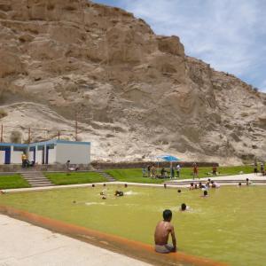 ペルーの旅 アレキパ(Arequipa)からユラ(Yura)へ温水プールに行く