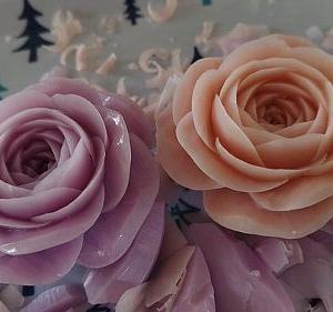 私が大好きなバラだから。