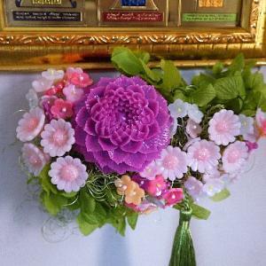 今年こそはお供え花にチャレンジしたい。