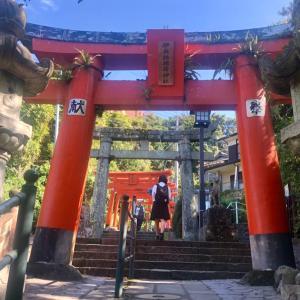 若宮稲荷神社の竹ん芸、、、♫
