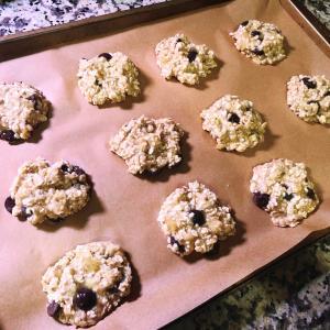 クッキーとは言えない気が。。。/ Banana Oatmeal Cookies