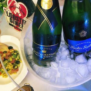 シャンパンシーフードサンデーランチ/ Champagne Seafood Sunday Lunch