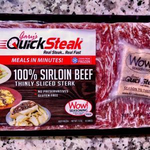 冷凍からあっという間に洋風牛丼完成/ Omaha Beef Bowl