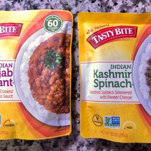 ペイレスで買えるインスタントインド食品/ Ready in 60 seconds, Instant Indian Sauce