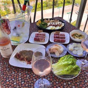 やきまる再び/ Yakiniku Sunday Balcony Lunch