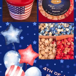 容器が欲しくて買っちゃった/ 4th of July Popcorn