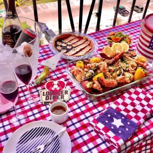 毎年これがいい!/ Seafood Boil for 4th of July
