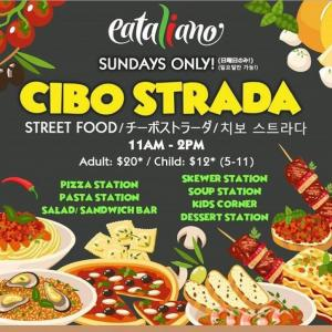 イータリアーノでサンデーブランチがスタート!/ Launching Sunday Brunch @ Eataliano in Leo Palace Resort Guam