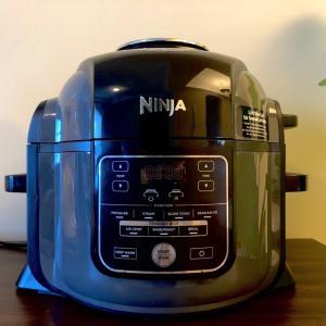 我が家にニンジャフーディーがやってきた/ Cooking with Ninja Foodi