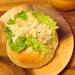 熱湯を注ぐだけの じゃがりこdeポテトサラダ