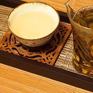 太平猴魁ほうじ茶&果実氷メロン