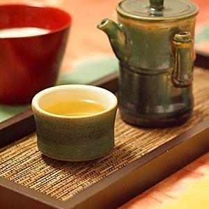 胡桃しるこ&凍頂烏龍茶