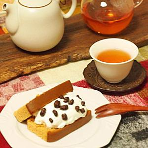 カステラアレンジ3日分&紅玉紅茶