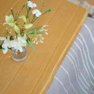 11/27 白い花と本日のハンドメイド