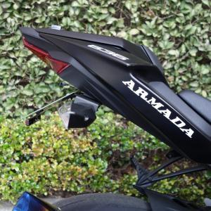 ZX-6R フェンダーレス化