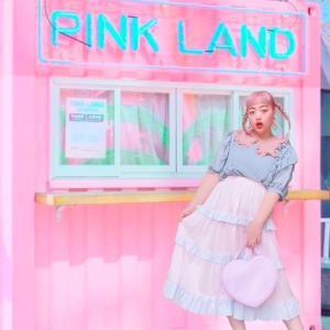 本日の妄想旅はピンク。とにかくピンク。