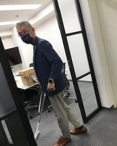 東京オフィスみんなで全体清掃