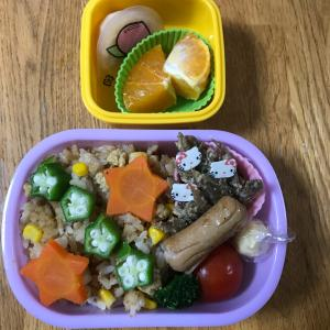幼稚園のお弁当DAY♡