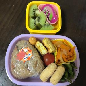 【幼稚園】お弁当DAYで前回のリベンジ!笑