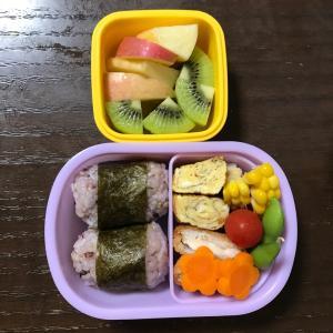 【幼稚園】お弁当DAY♡パターン化してきた!笑